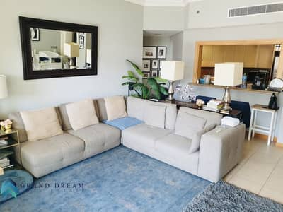 2 Bedroom Flat for Rent in Palm Jumeirah, Dubai - D Type|2 bedroom plus maid |Well maintained|beach access  included