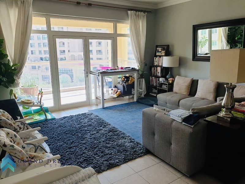 2 D Type|2 bedroom plus maid |Well maintained|beach access  included