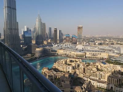 بنتهاوس 3 غرف نوم للبيع في وسط مدينة دبي، دبي - Spacious penthouse offering a striking view Downtown The Residences