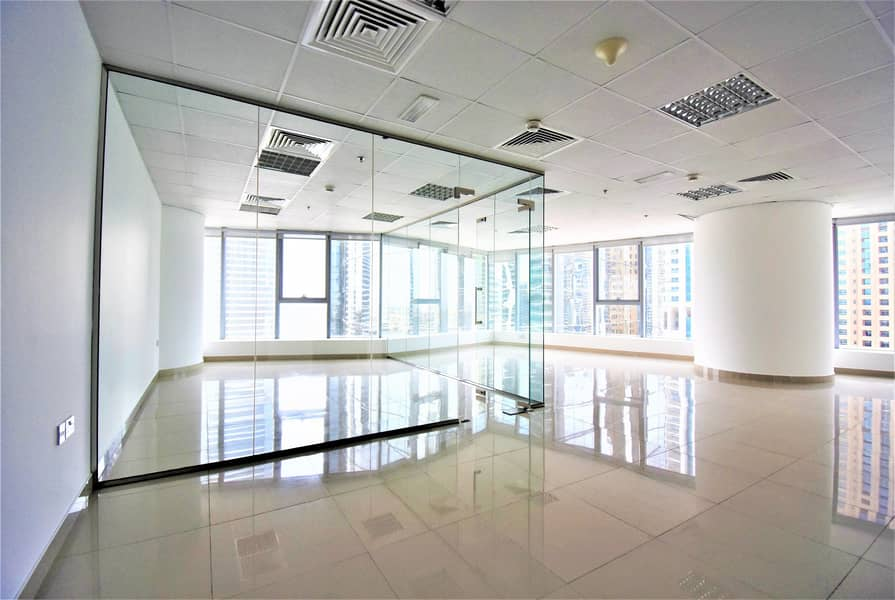 11 Exclusive | Corner Office Space with Pantry and WC