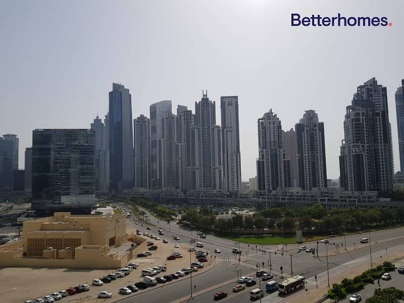 11 2 BR + Balcony I Bahwan Tower I Downtown