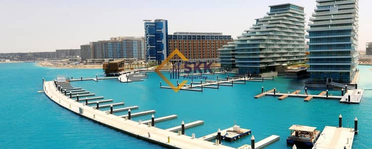 1 Bedroom Flat for Rent in Al Raha Beach, Abu Dhabi - Beautiful Partial  Sea View 1BR Apt | Affordable Price