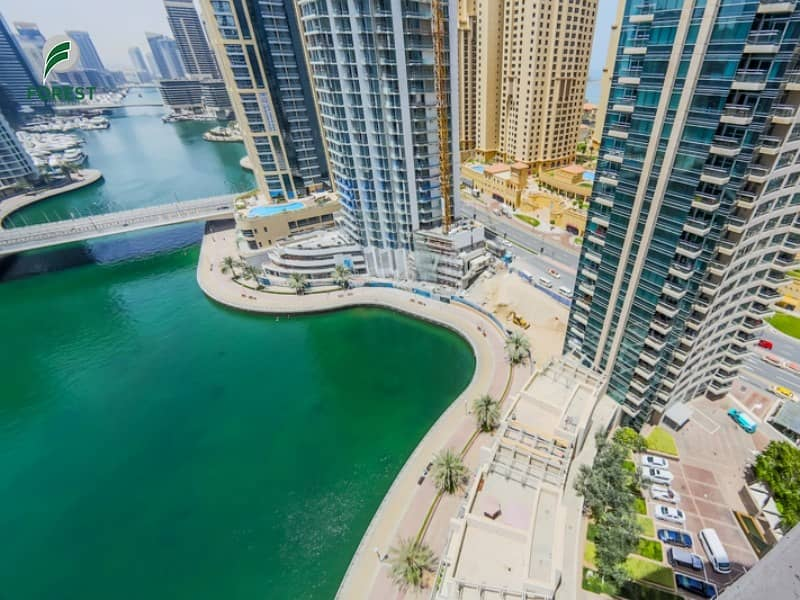 10 Fully Furnished   1BR   Marina View   High Floor