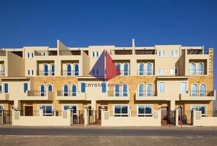 تاون هاوس 4 غرف نوم للايجار في قرية جميرا الدائرية، دبي - COMMENDABLE 04 BEDROOM TOWNHOUSE FOR RENT