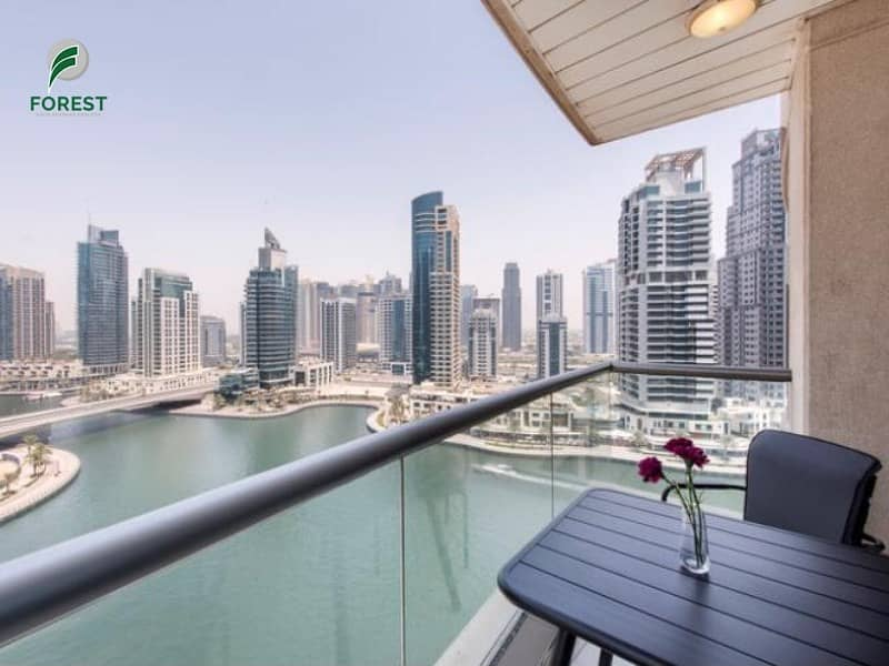 10 Beautiful | 1BR | Marina View | Unfurnished
