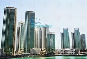 3 Bedroom Apartment for Rent in Al Reem Island, Abu Dhabi - 3 bed (large) corner unit in shams meera for 110k