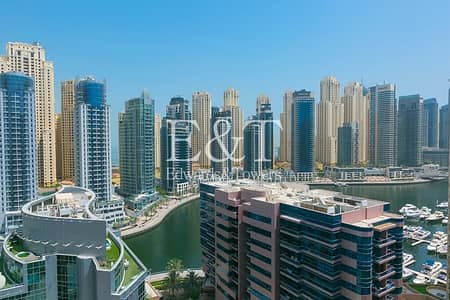 2 Bedroom Flat for Rent in Dubai Marina, Dubai - Spacious