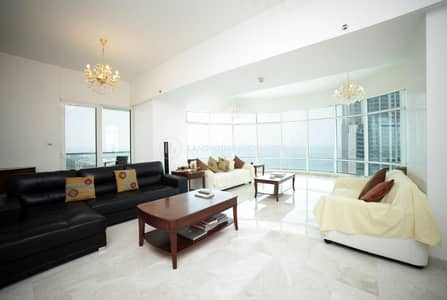 4 Bedroom Flat for Sale in Dubai Marina, Dubai - Large Size 4 BED | Panoramic Sea  Views | Upgraded
