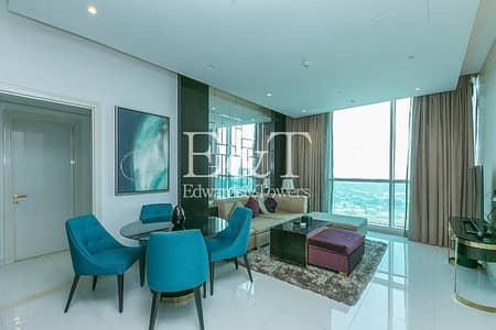 شقة 2 غرفة نوم للايجار في وسط مدينة دبي، دبي - Stylish 2 Bed I Furnished I High Floor I