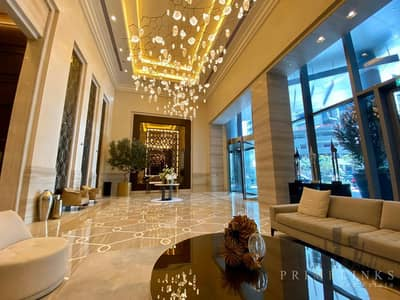 2 Bedroom Hotel Apartment for Rent in Downtown Dubai, Dubai - Fully serviced Luxurious apartment | Fountain & Burj views
