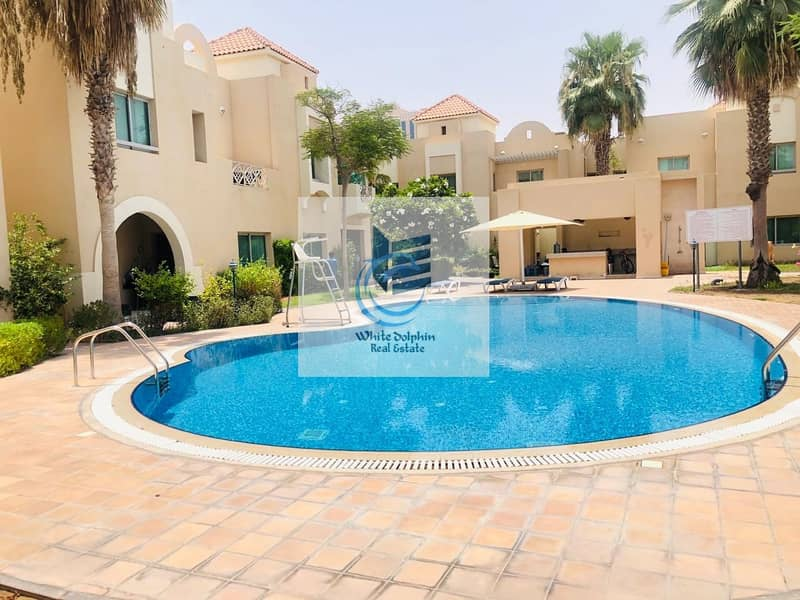 2 5BR COMPOUND VILLA IN A SOPHISTICATED COMMUNITY | MAID ROOM | SHARING POOL & GYM | NEARBY MOE