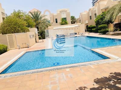 5 Bedroom Villa for Rent in Al Barsha, Dubai - 5BR COMPOUND VILLA IN A SOPHISTICATED COMMUNITY | MAID ROOM | SHARING POOL & GYM | NEARBY MOE