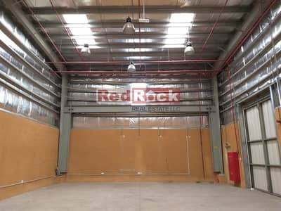 Warehouse for Rent in Ras Al Khor, Dubai - Pillar Free Warehouse of 1800 Sqft In Ras Al Khor