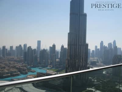 2 Bedroom Apartment for Rent in Downtown Dubai, Dubai - 2 beds | Burj Khalifa view | the address Blvd
