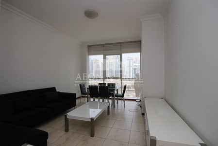 شقة 1 غرفة نوم للايجار في أبراج بحيرات الجميرا، دبي - Furnished I With Balcony I Fantastic Views I Immaculate Condition