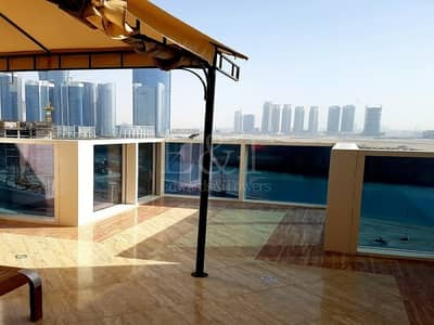4 Bedroom Townhouse for Sale in Al Reem Island, Abu Dhabi - Upgraded Townhouse  / Terrace 4 bed+M I Sea view I