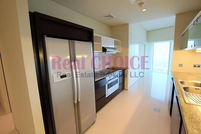 14 Huge 3BR|Fitted kitchen|Sea View|45 Days Rent Free