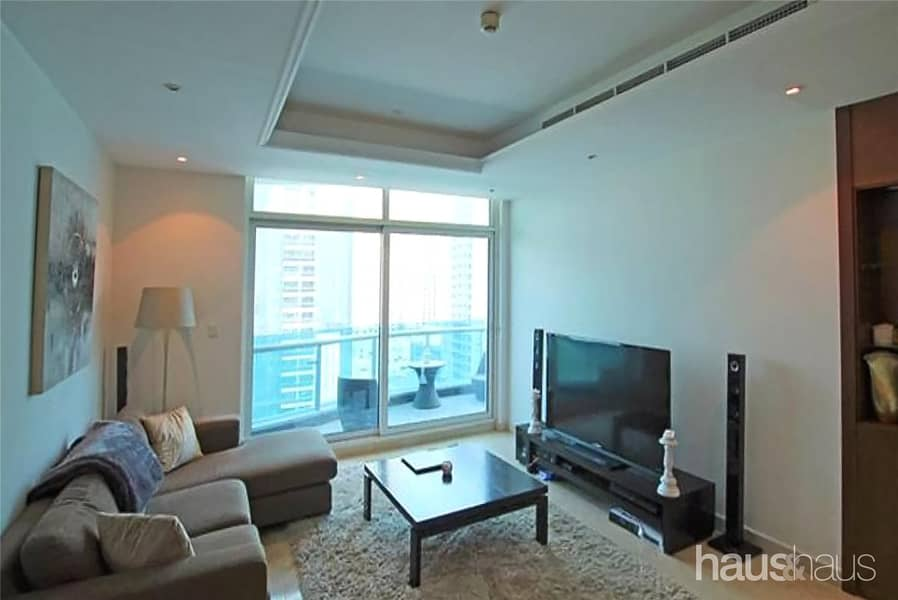 10 Large 2 Bedroom | Furnished | Full Marina View