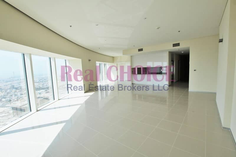 2 Spacious 2BR|High Floor|Sea View|1 Month Free Rent