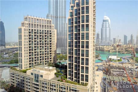 2 Bedroom Flat for Sale in Downtown Dubai, Dubai - Fountain View | 1491 Sq.Ft. | Largest Type