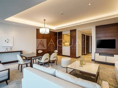 2 Bedroom Flat for Rent in Downtown Dubai, Dubai - Ready To Move In | Burj Khalifa Fountain View