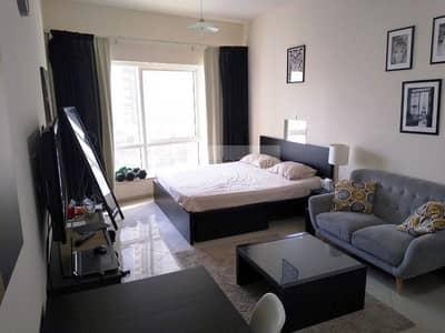 استوديو  للايجار في أبراج بحيرات الجميرا، دبي - Furnished STUDIO Apt