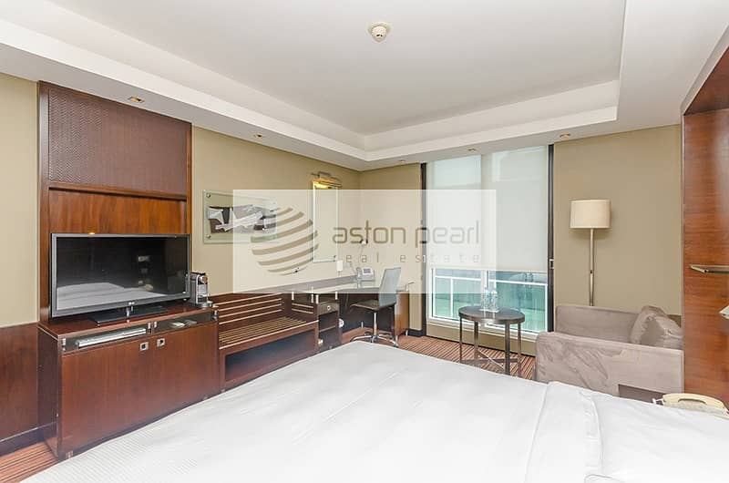 Fully Furnished | Fully serviced 1BR |  12 Cheques