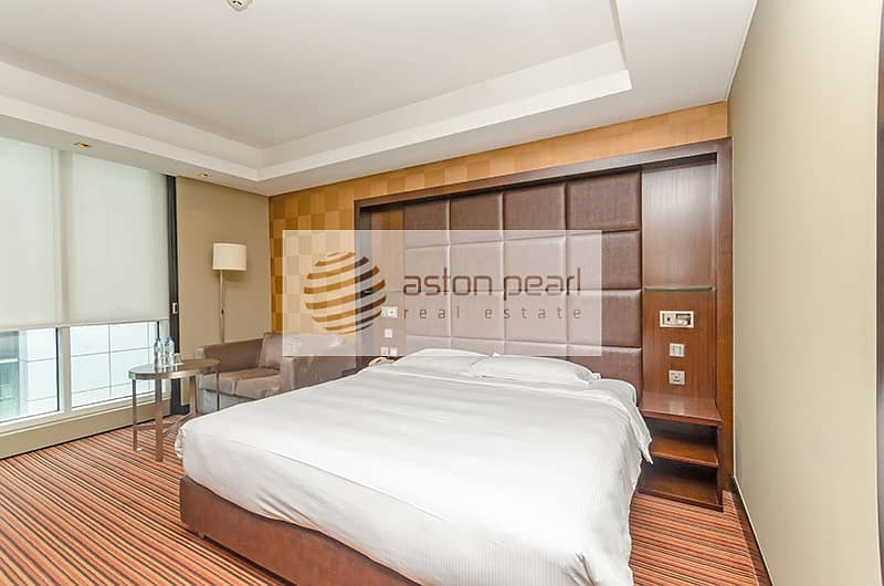2 Fully Furnished | Fully serviced 1BR |  12 Cheques