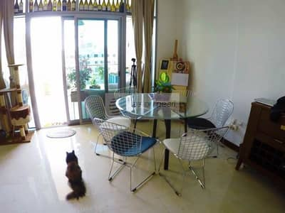 2 Bedroom Apartment for Sale in Jumeirah Village Circle (JVC), Dubai - Fully Furnished 2BR Duplex For Sale in Villa Pera