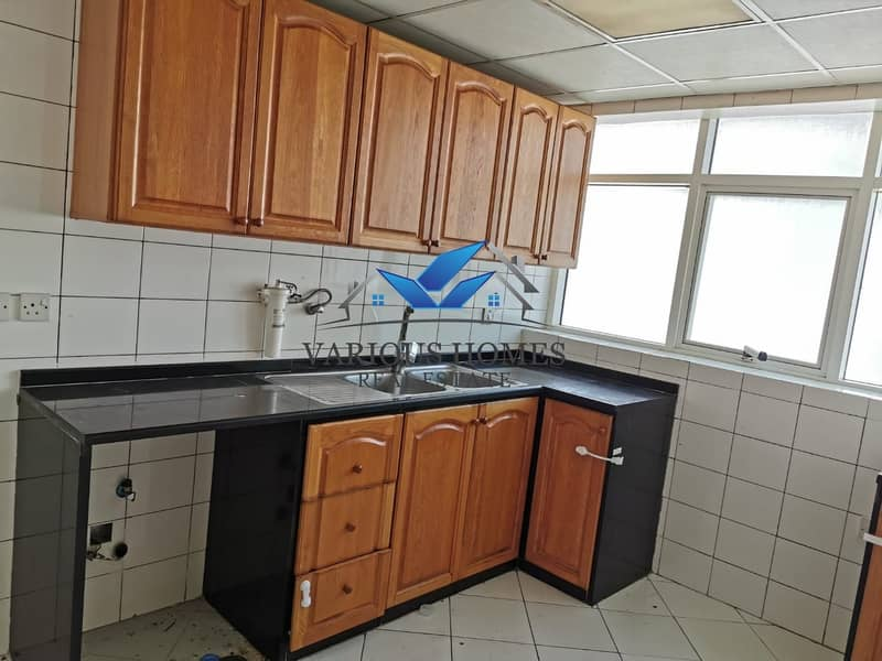 8 Renovate! 01 BR APT + Wardrobes + Central AC at Delma Street  Tanker Mai area Muroor Road