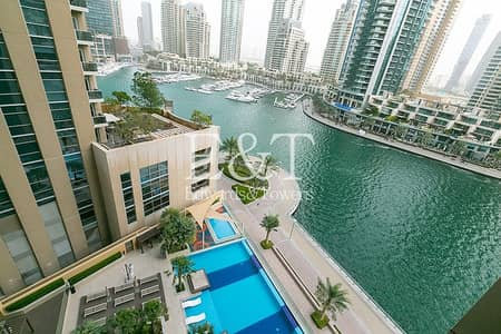 1 Bedroom Flat for Rent in Dubai Marina, Dubai - Best Priced 1 bed in No.9 | Marina View | Must See