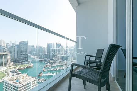استوديو  للايجار في دبي مارينا، دبي - Marina View|Price included all utility bills| Luxury Furnished