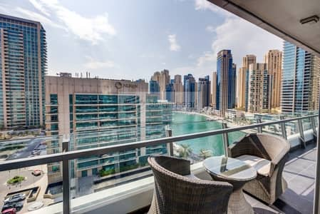 2 Bedroom Flat for Sale in Dubai Marina, Dubai - Beautiful 2BR with Balcony | Rented for short term