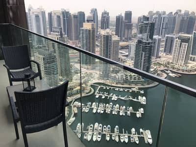 1 BR Full Marina View | Furnishing & Bills Options