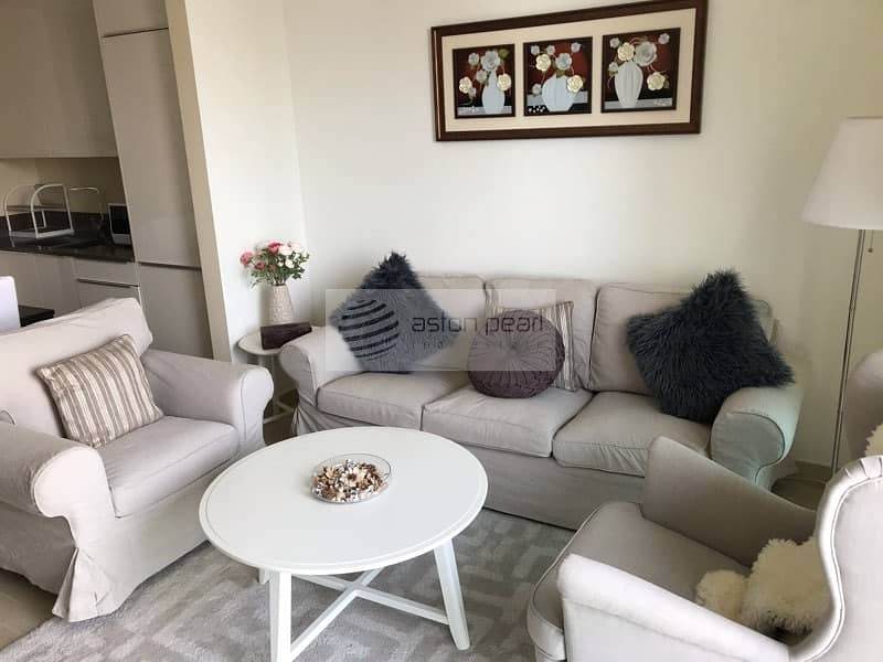 2 1 BR Full Marina View | Furnishing & Bills Options