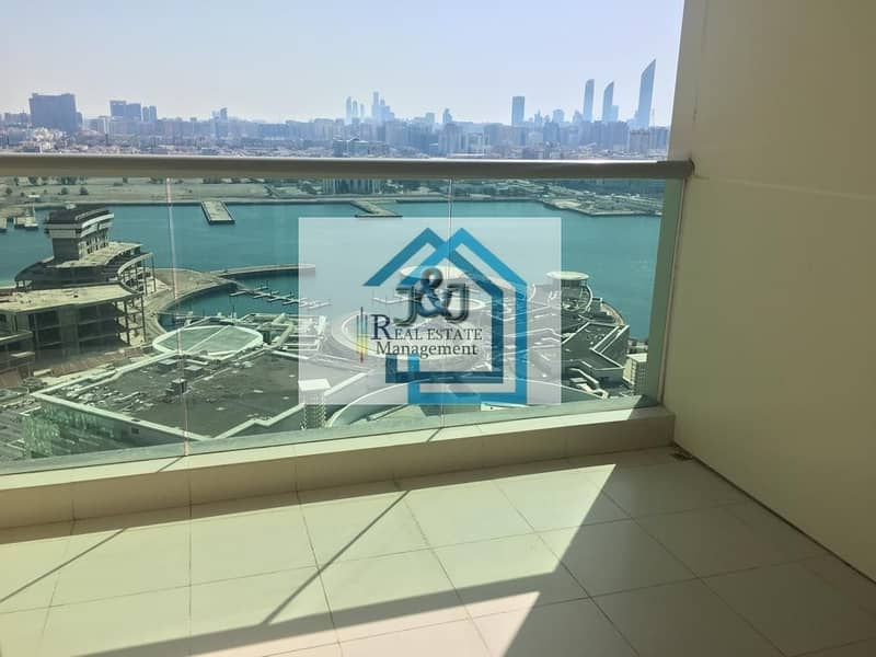 Soon to be Vacant 3 BR Apt with Balcony in Marina Square