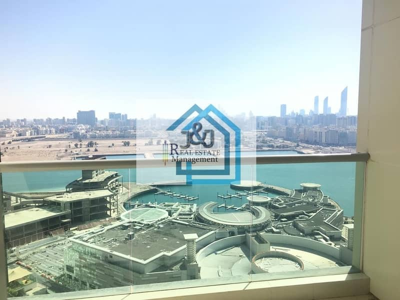 11 Soon to be Vacant 3 BR Apt with Balcony in Marina Square