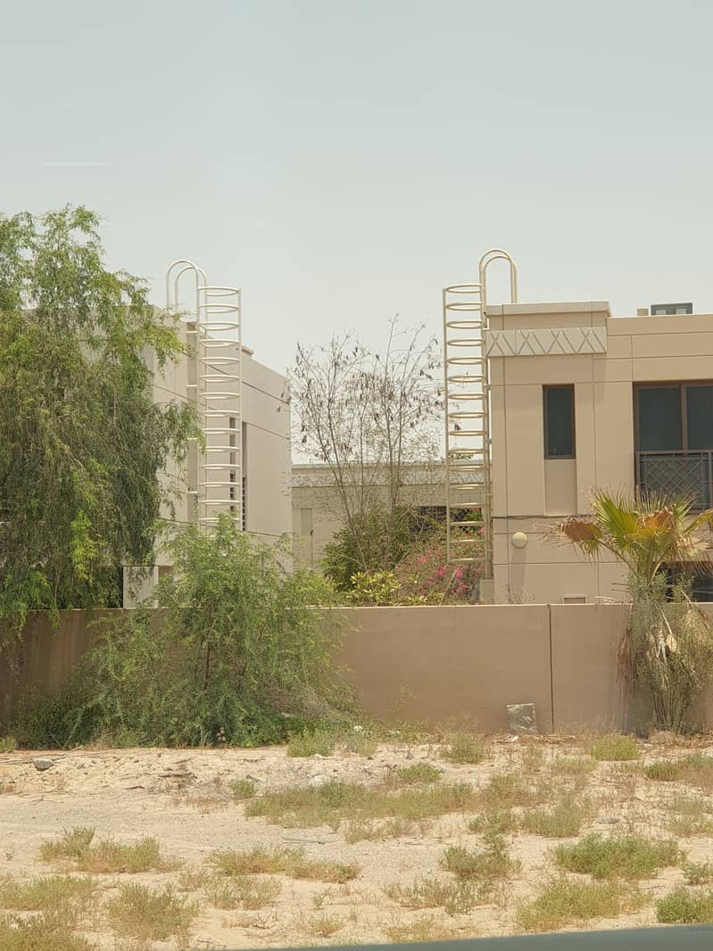 (No transfer fees)Excellent land for sale in ajman( free hold) on black road