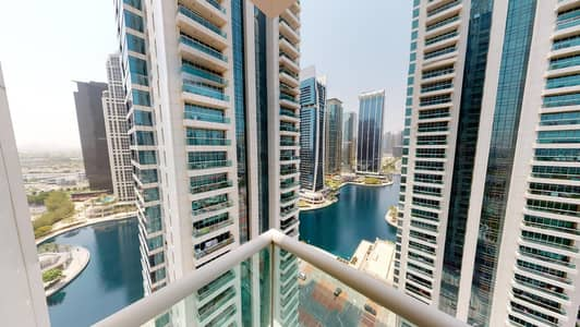 2 Bedroom Flat for Rent in Jumeirah Lake Towers (JLT), Dubai - SZR and lake views | Hot tub | Flexible contract