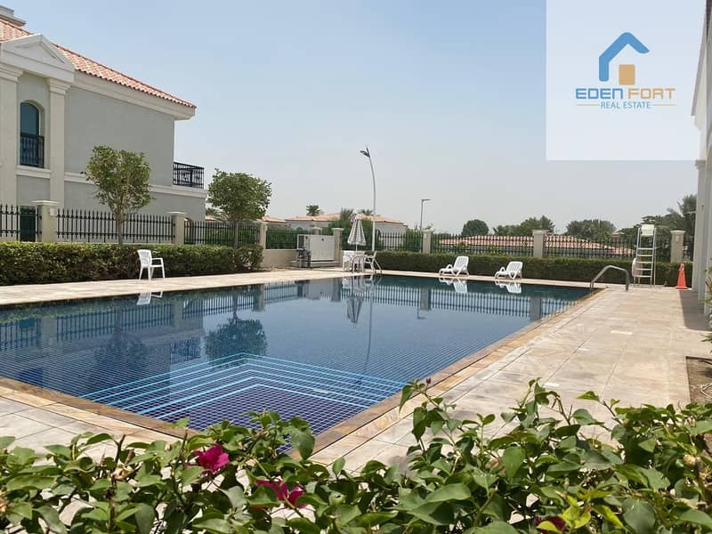 Amazing space 4BR Villa|Maid| Ready To Move For 140K