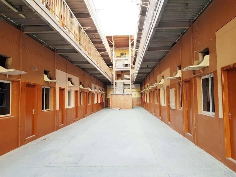صيانة جيدة للمخيم العمالي خيار مرن ، 100 غرفة / 50 غرفة / 20 غرفة / 10 غرف