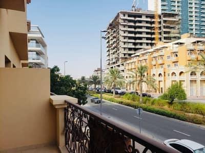 تاون هاوس 4 غرف نوم للايجار في قرية جميرا الدائرية، دبي - تاون هاوس في لوتس بارك قرية جميرا الدائرية 4 غرف 100000 درهم - 4678701