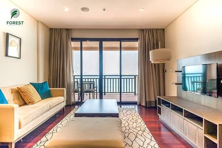1 Bedroom Apartment for Sale in Palm Jumeirah, Dubai - Upgraded Interior | 1BR | Full Sea View | Vacant