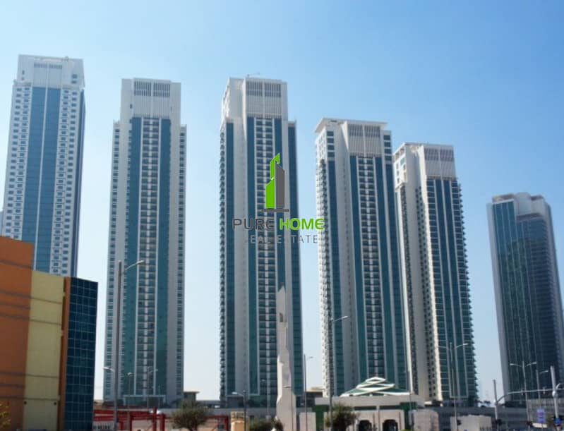 2 Affordable 1 Bedroom Apartment for Rent in Al Maha Tower | 4 Payments