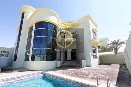 فیلا 6 غرف نوم للايجار في مدينة خليفة أ، أبوظبي - Unbelievable 6BR Villa Superb Finishing & Pool