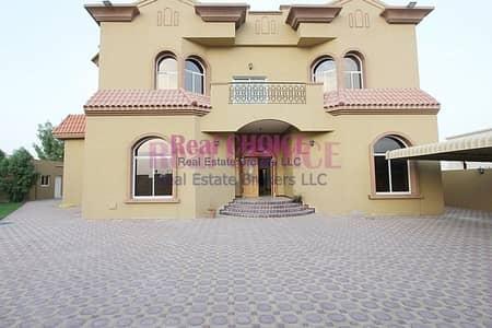 فیلا 8 غرف نوم للايجار في الورقاء، دبي - Quality Spacious | 8BR Corner Villa | Huge Plot