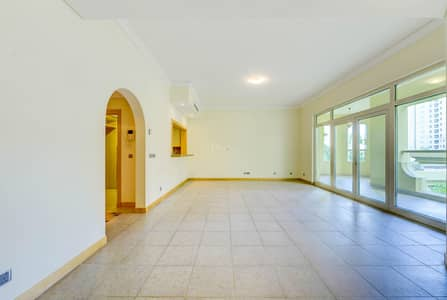 2 Bedroom Flat for Rent in Palm Jumeirah, Dubai - LOW FLOOR |GREAT COMMUNITY |TYPE E |2 BED