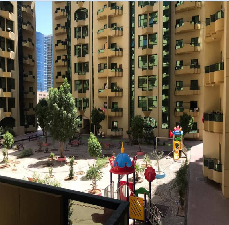 Rashidya Towers, Spacious 2 Bedroom Hall for Rent