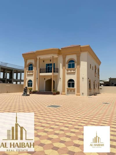 6 Bedroom Villa for Rent in Al Rahmaniya, Sharjah - For rent a new two-storey villa in Rahmaniyah 7 great location