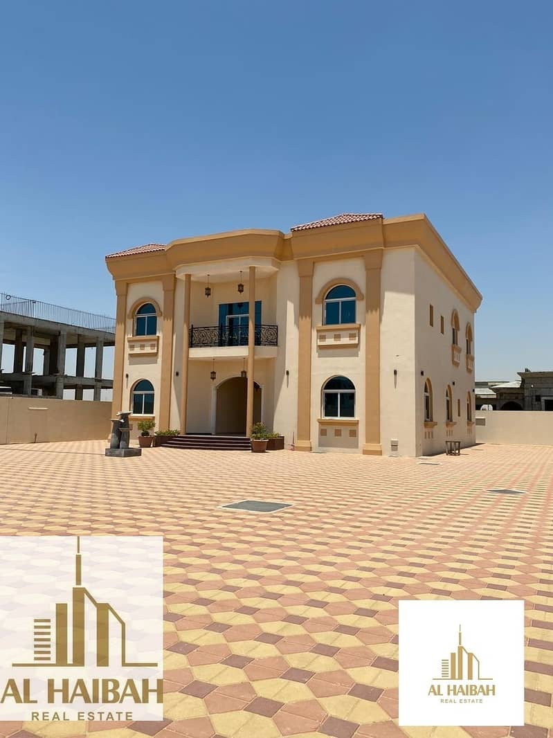 1 For rent a new two-storey villa in Rahmaniyah 7 great location